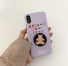 ◜ ˗�ˋ�ˎˊ˗ ◞ ���������: ������__�������� Chanel Phone Case, Diy Phone Case, Phone Cover, Kpop Phone Cases, Iphone Cases, Aesthetic Phone Case, Purple Aesthetic, Moon Child, Tech Accessories