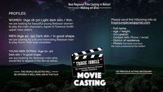 Tragic Jungle Movie Auditions