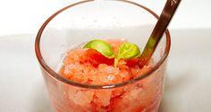 Vodkás dinnye sorbet recept Vodka, Sorbet, Punch Bowls, Fudge, Cocktails, Ice Cream, Coolers, Smoothie, Summer
