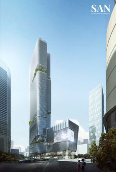 Pockets of green in conventional towers