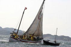 REDNINGSSKØYTE: Motivet på den nye 500-lappen er redningsskøyta «Stavanger», og situasjonen er hentet fra skøytas siste tur til Norsk Maritimt Museum.