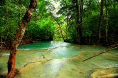 Air Terjun Mata Jitu Pulau Moyo, Pesonanya Menyihir Mendiang Putri Diana