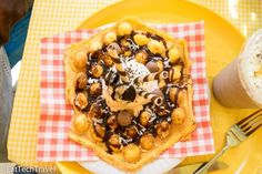 Bubble Waffle from The Little Diner