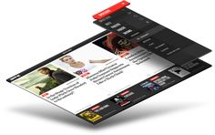 Broadway.com iPad Application Overlay Mockup