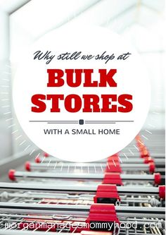 Buying at bulk store