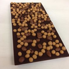 Dark Chocolate Salted Caramel Crispearls & Crunchie #chocolabau #yum #caramel #chocolate #delicious #foodporn #eat #darkchoxolate