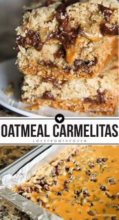 Oatmeal Caramelitas. This recipe is packed full of oats, brown sugar ...