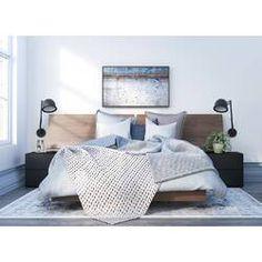 Nexera Sonoma Full Size Bedroom Set 400874 from Walnut and Black