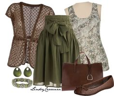 """""""Olive and Brown"""" by lindsycarranza on Polyvore"""
