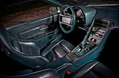 Porsche 928 S4 CS interieur