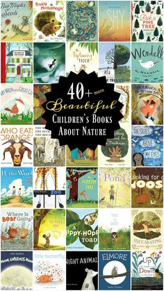 Beautiful Nature Books for Kids - so many good (new to me) books! Part 2 of the series (over 70 books total) Nature Activities, Activities For Kids, Educational Activities, Educational Websites, Toddler Books, Childrens Books, Books For Toddlers, Toddler Fun, Forest School