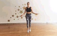 The 30-Minute HIIT Jump Rope Workout : Scissor Jumps Exercise