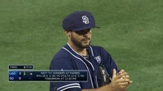 Padres' Alex Torres becomes first player to wear protective hat. Super Mario baseball anyone?