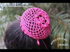 Redinha em Crochê para Balé - Aprendendo Crochê - YouTube