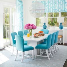 Easygoing Meets Contemporary - Beach House Dining Rooms - Coastal Living