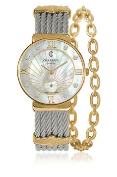 Charriol Saint Tropez Infinite Summer watch...wish I could have one of these in the future (photo Charriol Official Facebook page)