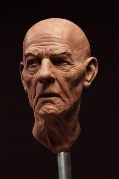 We spiced it up, didn t we? Human Sculpture, Sculpture Head, Sculptures Céramiques, Volume Art, Anatomy Sculpture, Ceramic Sculpture Figurative, Traditional Sculptures, Anatomy Drawing, Portrait Art