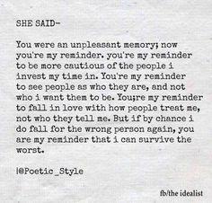 Reminder to remind me!