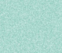 Pale Turquoise - linen look by Andrea Lauren  fabric by andrea_lauren on Spoonflower - custom fabric