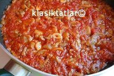 mantarlı domates sosu