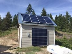Here is my latest blog post with YouTube video showing you my solar power shed. It is getting close to completion, still some work to go but getting there. This was the first structure I built and it has served me well, as not only for my alternative power equipment and solar panels, but a safe place to store tools.