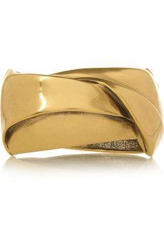 Oscar de la Renta Gold-plated cuff | THE OUTNET