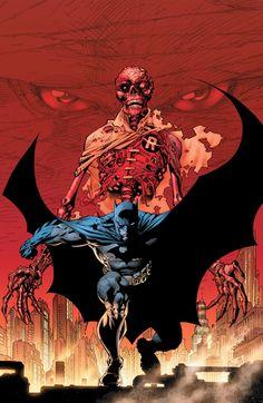 Batman (Cover art by Jim Lee)