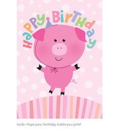 Tickled pink Birthday!