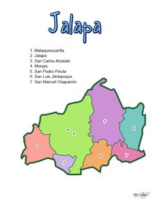 DEPARTAMENTO DE JALAPA (GUATEMALA) - CHILE POST™