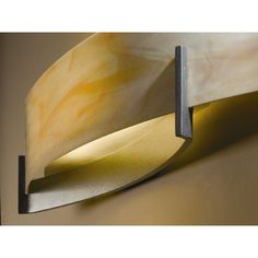 Hubbardton Forge Axis 2 Light Wall Sconce Finish: Mahogany, Shade Color: Sand, Bulb Type: (2) 60W fluorescent bulbs