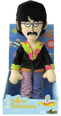 JOHN LENNON PLUSH TOY [7311] - $20.00 : Beatles Gifts, The Fest for Beatles Fans