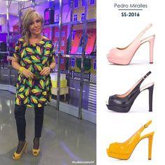 Lydia Lozano elige el color mostaza ¿Con cuál te quedas tú?  *Modelo 9518 - Descubre los colores disponibles en nuestra TIENDA ON-LINE www.pedromiralles.com #lydialozano #pedromiralles #shoes
