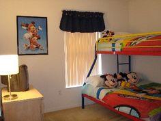 Kid's Room #disney #rental #vacation http://www.homeaway.com/vacation-rental/p236453