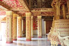 Inside Royal Sweden Palaces | inside the royal palace in luang prabang outside the royal