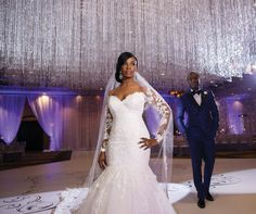 Luxurious Nigerian wedding in Houston featuring exquisite decor and an equally magical love story. Planned by Dure Events.