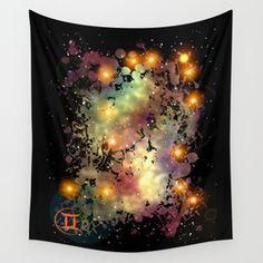 The Zodiac Sign -- Gemini Wall Tapestry