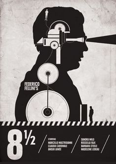 8  1/2 promotional poster.
