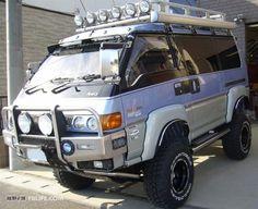 L300 4x4 Van, Off Road Camper, Truck Camper, Vw Bus, Volkswagen, Delica Van, Small Motorhomes, Mini Trucks, Small Trucks