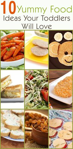 Are you in search of healthy food ideas for toddlers that are easy, quick and healthy? Here we present you top ten yummy food ideas your toddlers will love.