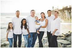 Family Session: O'Shea Family | Oceanside Pier, CA | Analisa Joy Photography | San Diego, CA Photographer » Analisa Joy Photography