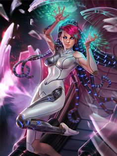 Card art I did for the upcoming Sol skin in SMITE. ©Hirez-studios for the…