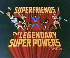 Super Friends: The Legendary Super Powers Show. 80s cartoons