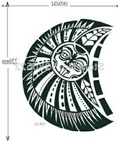 Tatuaje enfrente Trible Tattoos, Star Tattoos, Body Art Tattoos, Hand Tattoos, Samoan Tattoo, Maori Tattoos, Polynesian Tattoos, Full Hand Tattoo, Small Dragon Tattoos