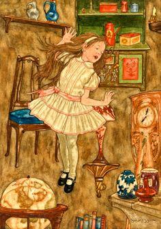 Michael Hague illustration of Alice