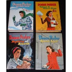 Donna Parker Series  - this got me started loving chick lit before we even had the term.