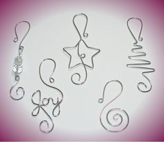 Christmas Ornament Hooks TWO packages   Holiday by WireExpressions, $21.95