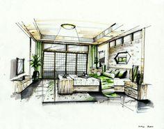 interior marker rendering 3 by zlaja