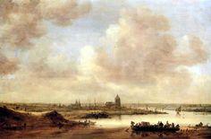 Jan van Goyen  - Vue d´Arnhem -1645