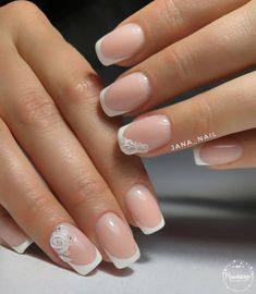 100 winter nail designs 2018 nails and manicure styles Nail Art Designs, French Nail Designs, Winter Nail Designs, Chic Nail Art, Chic Nails, Gel Nail Art, Winter Nail Art, Winter Nails, Summer Nails