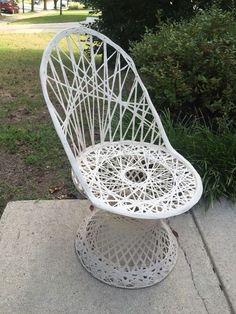 vintage mid century russell woodard spun fiberglass outdoor patio garden chair ebay garden chairspatio gardensiron patio patios wrought